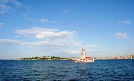 Kız Kulesi ve Tarihi Yarımada Manzaralı Müstakil Ev